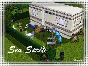 Sims 3 — Seasprite Caravan by popeye3 — We love camping and when I saw the caravan building sets I could'nt wait to build