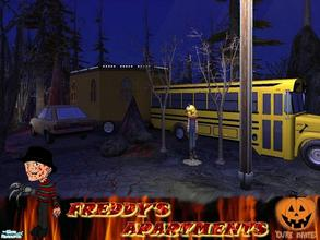Sims 2 — Freddy's Apartments by allison731 — Theme:Helloween...For now I represent apartments where Freddy wants to be a