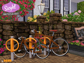Sims 3 — Sicykl Bicycle Set by D3VV — Bicycles, who doesnt love them. Leave the car behind and take the bike instead and