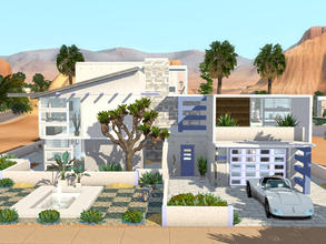 Sims 3 — Thornton by mrsimulator — Thornton is situated in Lucky Palms! Designed with efficiency and functionality.