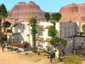 Sims 3 — Wingfield by mrsimulator — If you are looking for something remote, this is the Ranch for you. Good dirt roads