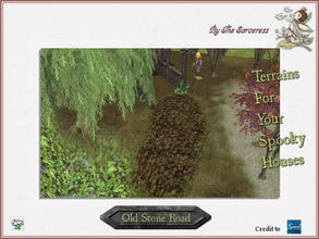 Sims 2 — JJs Old Stone Road by thesorceress — Another set of Terrainpaints to shape and landscapes your lots as you like