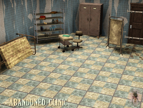 Sims 3 — Abandoned Clinic by Symphonie1213 — This was once a well established and prominent clinic within the medical