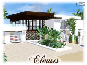 Sims 3 — Eleusis - 2 Bed, 3 Bth by Illiana — Why stay in a shack by the beach when you could own this delightful beauty