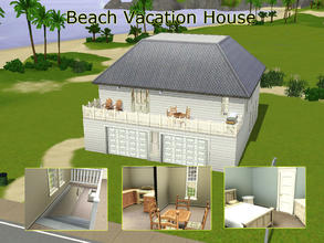 Sims 3 — Beach Vacation House by Homes_by_Hayley — A natural-light-filled open-concept vacation home -perfect for a beach