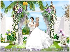 Sims 3 — Beach Wedding Place [Full Furnished] by TugmeL — Beach Wedding Place-Community-09 Sun, sea, beach and a lover to