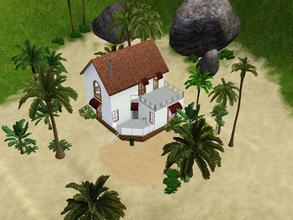 Sims 3 — Western Lane 405 *unfurnished* by Silerna — Western Lane 405 is sunny and summer-themed lot located on a beach