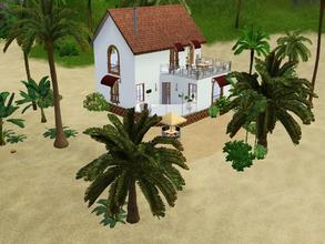 Sims 3 — Western Lane 405 by Silerna — Western Lane 405 is sunny and summer-themed lot located on a beach side! This