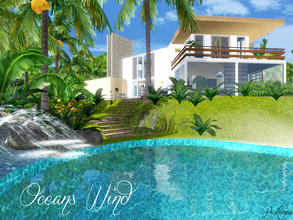 Sims 3 — Oceans Wind by peskimus — Oceans Wind is the perfect beach house for any Sim. Located right on the shores of