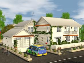Sims 3 — Harbor House by mrsimulator — Harbor House is a double story home situated in Aurora Skies and is fully