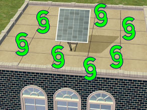 Sims 2 — New Invention:  NanoTech_SolarPanel - An Object Mod by eliseluong2 — A product of state-of-the-art