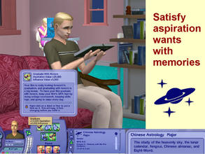 Sims 2 — New University Major:  Chinese Astrology by eliseluong2 —