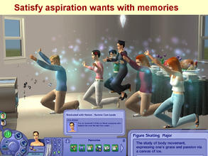 Sims 2 — New University Major:  Figure Skating by eliseluong2 —
