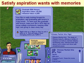 Sims 2 — New University Major:  Chinese Martial Arts by eliseluong2 —
