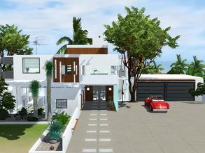 Sims 3 — Woodley by mrsimulator — Woodley is a stunning modern and contemporary style home with room to expand, featuring