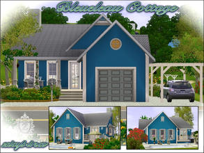 Sims 3 — Bleueleau Cottage by ziapina — Wonderful summery Cottage with 2 bedrooms , 1 bathroom, kitchen and dining Room,