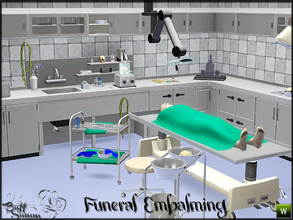 Sims 3 — Embalming Room Pt. 1 *Request* by BuffSumm — Embalming is defined as the disinfecting, preserving and