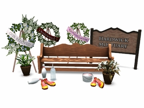 Sims 3 — Twisted Funeral Home Stuff  by sim_man123 — A collection of various and slightly humorous items, as requested by