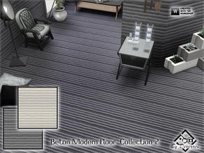 Sims 3 — Beton Modern Floor  Collection 2 by Devirose — This file includes 2 floors-Base Game Compatible,no need