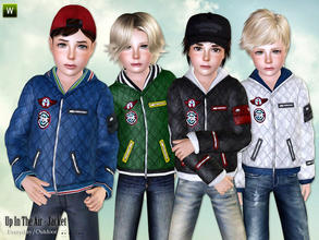 Sims 3 — Up In The Air - Jacket by lillka — Up In The Air - Jacket for Boys Everyday/Outdoor recolorable I hope you like