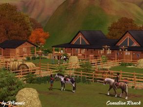 Sims 3 — Canadian Ranch-Updated by Wimmie —