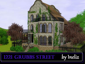 Sims 3 — 1221 Grubbs Street  by Ineliz — Are your sims looking for a comfortable and not too expensive home? They want to
