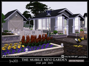 Sims 3 — Mobile Mini Garden by trin3032 — A community garden for all your trailer park needs! The Mobile Mini Garden is a