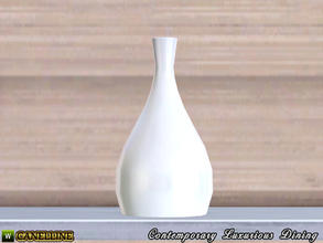 Sims 3 — Contemporary Luxurious Dining Room. Modern Vase by Canelline — Contemporary Luxurious Dining Room. Modern Vase