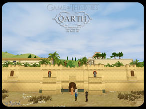 Sims 3 — GoT Qarth Inspired Lot by murfeel — Inspired by the greatest city that ever was or will be, this 3br 3bth EIK