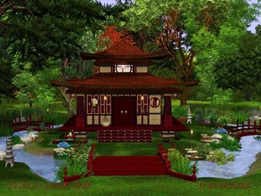 Sims 3 — Li-Cheng Elixir Shop by Guardgian2 — Discover the mysteries of Chinese elixirs in this Oriental version of an
