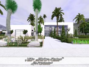 Sims 3 — Villa White Palms by Pralinesims — EP's required: World Adventures Ambitions Late Night Generations Pets