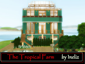 Sims 3 — The Tropical Farm  by Ineliz — When your sims feel like they want to grow a million of perfect plants, then