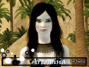 Sims 3 — Artemisia by Ineliz — There could be no braver warrior than a coldblooded mastermind of Persian Empire.