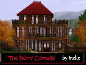 Sims 3 — The Berry Cottage by Ineliz — This pretty place can become your sweet home if you wish to move in to a house