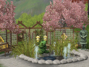 Sims 3 — Mini Chinese Garden by Wimmie —