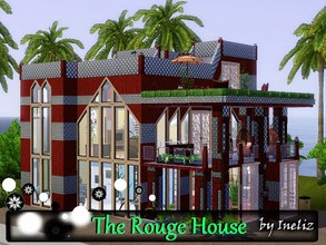 Sims 3 — The Rouge House by Ineliz — Sometimes your sims want something out of normal, something strange-looking but at