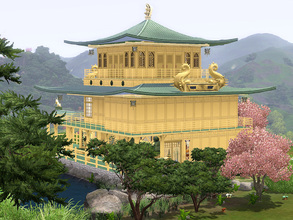 Sims 3 — Golden Temple of Shang Sim La by Wimmie —