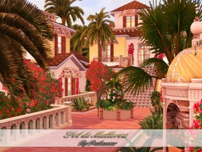 Sims 3 — Sol de Mallorca by Pralinesims — EP's required: World Adventures Ambitions Late Night Generations Pets Showtime