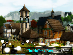 Sims 3 — The Holland Park by Ineliz — The Holland Park is a beautiful place where your sims can rest and enjoy their