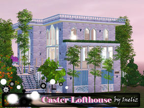 Sims 3 — Caster Lofthouse by Ineliz — Every professional scientist dreams about his own laboratory. Sometimes smart sims