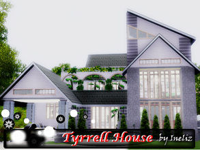 Sims 3 — Tyrrell House by Ineliz — Tyrrell House is a great place for a small family, where your kids can run around a