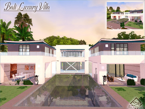 Sims 3 — Bali Luxury Villa by Devirose — Ideal for exotic scenery, this magnificent house, built for the luxury island of