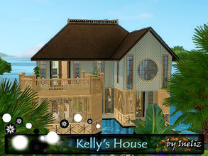 Sims 3 — Kelly's House by Ineliz — In your sims' perfects little world, there might be one thing missing, and that is - a