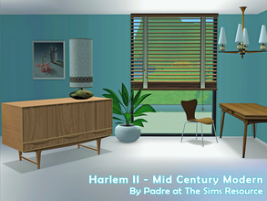 Sims 2 — Harlem II by Padre — More Mid Century style items for your cool mid-century sims