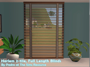 Sims 2 — Harlem II - Blinds 2-tile by Padre — More Mid Century style items for your cool mid-century sims