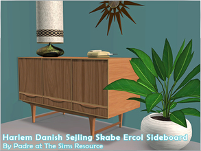 Sims 2 — Harlem II - Danish Sejling Skabe Sideboard by Padre — More Mid Century style items for your cool mid-century