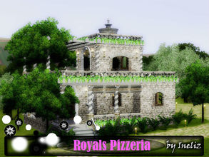 Sims 3 — Royals Pizzeria by Ineliz —  It's always nice to have a classic restaurant in your neighborhood, but it's even