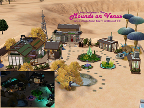 Sims 3 — Mounds on Venus by Satureja2 — Mounds on Venus Ever wished you could live on an other planet? Move to this