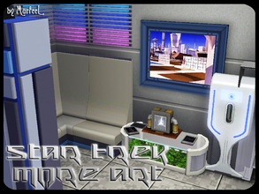 Sims 3 — Star Trek - More Art by murfeel — Wall Art. The final feng shui. These are 2 decor pieces for your sci-fi lots.