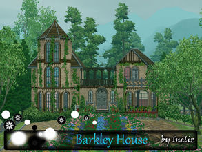 Sims 3 — Barkley House by Ineliz — Barkley House is a small stone family house, where your sims can go during the summer